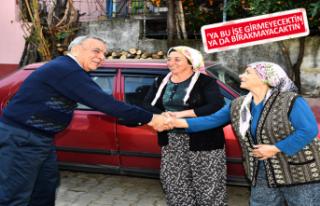 Beydağlılar'dan Başkan Kocaoğlu'na coşkulu...