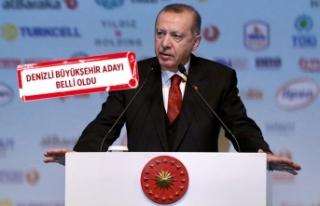 Erdoğan 40 ilin başkan adayını açıkladı