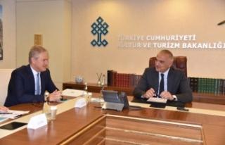 Ege turizmi için Ankara'daydılar