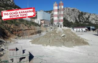 Karaburun'da taş ocağına karşı hukuk mücadelesi