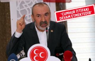 MHP Genel Başkan Yardımcısı Yaşar Yıldırım'dan...