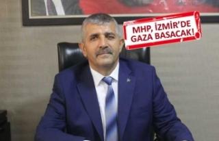 MHP İl Başkanı Veysel Şahin, ilçe teşkilatlarını...