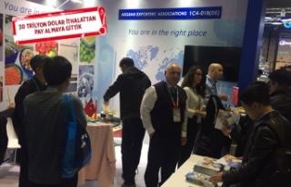 Türk ihracatçısının ilgisi Çin'e yöneldi!