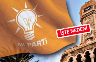 AK Parti İzmir'de flaş istifa