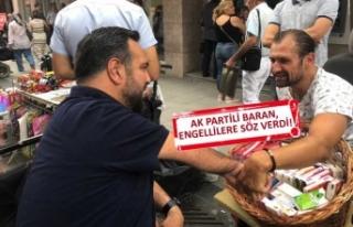 AK Partili Baran: Karşıyaka, engelli dostluğu sayesinde...