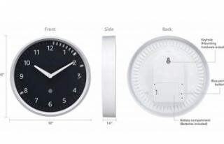 Amazon bu kez akıllı duvar saatiyle geldi!