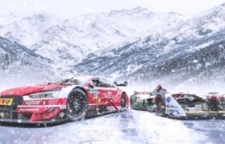 Audi buz üstünde yarışacak