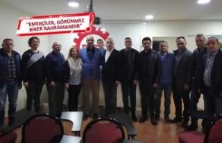 CHP Bornova A. Adayı Çetinkaya'dan DİSK çıkarması
