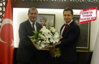 CHP İzmir'den İYİ Parti'ye ziyaret! İttifak...