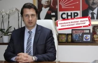 CHP'li Yücel'den Erdoğan'a İZBAN...