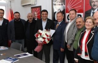 Ege Koop Genel Başkanı Hüseyin Aslan, İzmir'in...
