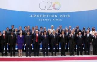 G-20'de 2019 ile 2020 yılının dönem başkanları...