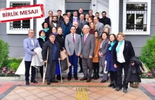 İYİ Parti'den CHP'li Atila'ya ziyaret