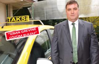 İZBAN grevi nedeniyle taksiler kolaylık sağladı