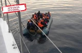 İzmir'de 95 düzensizgöçmenyakalandı
