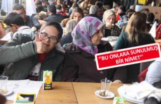 İzmir'de özel çocuklara destek