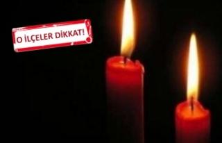 İzmir'deelektrik kesintisi!