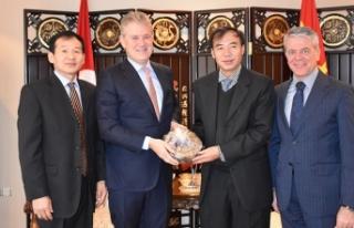 İZTO, Çin ile ticaretin köprüsü olacak