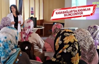 Karabağlar'da kadınlar bilinçleniyor