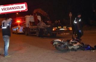 Kazada yaralanan gencin cep telefonunu çaldı