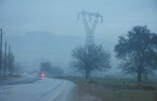Muğla'da yoğun sis ve sağanak