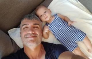 Özcan Deniz'in oğlu Kuzey ile 9'uncu ay...