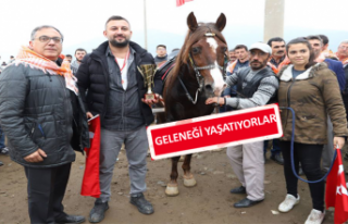 Rahvan Atlar Bayındır'da Koştu