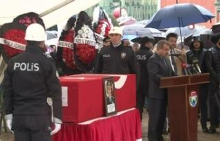 Şehit Emniyet Müdürü Altuğ Verdi için tören...