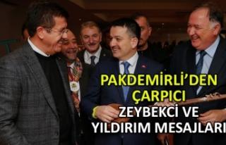 Bakan Pakdemirli'den çarpıcı Zeybekci ve Yıldırım...