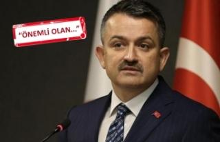 Bakan Pakdemirli, o eleştirilere İzmir'de yanıt...