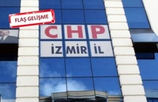 CHP İzmir'de o isim disipline sevk edildi