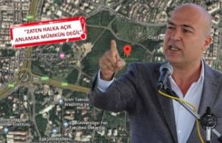 CHP'li Bakan, 'üniversiteye millet bahçesi'ni...