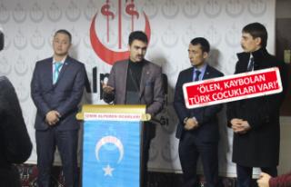 İzmir Alperen Ocakları'nda gündem Doğu Türkistan...