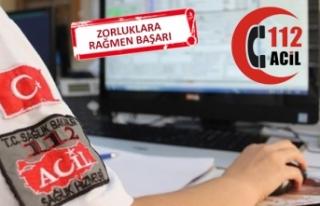 İzmir 112 Acil Servisi'nde yüzde 94'lük...