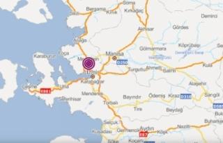 İzmir bu sabah depremle uyandı