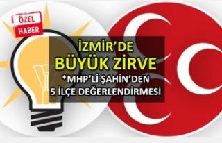 İzmir'de büyük zirve: MHP'li Şahin'den...