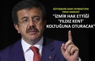 """""""İzmir hak ettiği 'yıldız kent'..."""