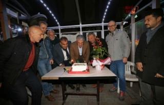 Karşıyaka'da Akpınar, 2019'u taksicilerle...