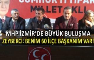 MHP İzmir'de büyük buluşma! Zeybekci ve adaylar...