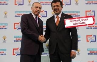 Zeybekci: 30 aday arkadaşımla İzmir'i şahlandıracağız