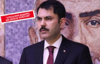 Bakan Kurum'dan ücretli poşet açıklaması