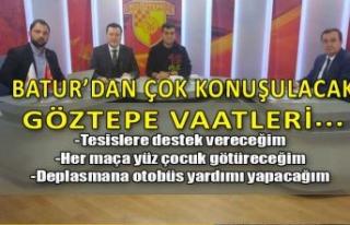 Batur'dan Göztepe için çok konuşulacak vaatler!