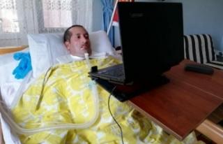 Bilgisayar onu hayata bağladı