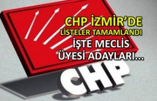 CHP ve İYİ Parti'nin İzmir'de meclis...