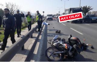 İzmir'de trafik canavarı 1 can aldı