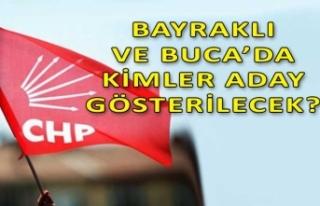 İzmir'in iki dev ilçesinin adayları bugün...