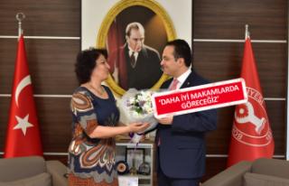 Kadınlardan Başkan Olgun Atila'ya teşekkür