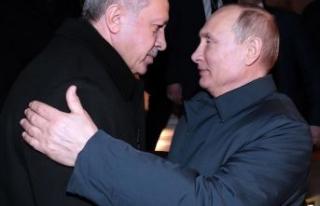 Putin'den Cumhurbaşkanı Erdoğan'a sıcak...