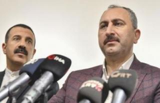 Adalet Bakanı'ndan HDP ve CHP'ye sert tepki