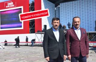 AK Partili Dağ: Türkiye, İzmir mitingini takip...